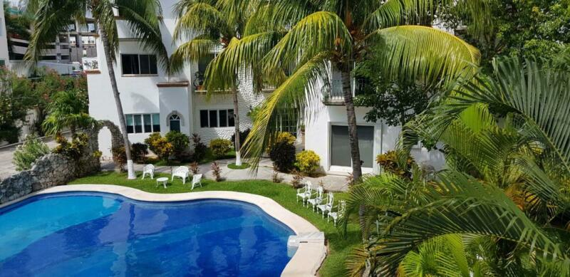 Departamento en Renta de 2 Recámaras en Antonio Enriquez Savignac, Zona Hotelera, Cancún