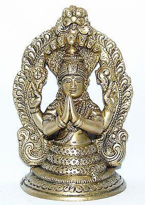 PATANJALI BUDDHA GOTT DES YOGA 17,5 CM HOCH INDIEN MEDITATION BUDDHISMUS STATUE