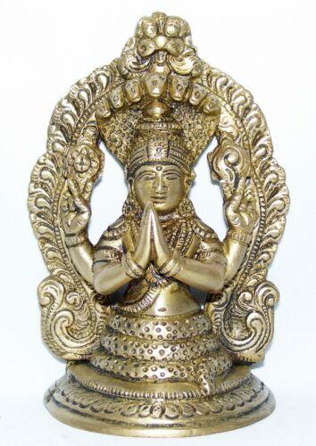 """PATANJALI BUDDHA /""""GOTT DES YOGA/"""" 13CM HOCH INDIEN MEDITATION BUDDHISMUS STATUE"""