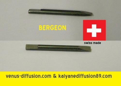 1 lame de tournevis screwdriver blade bergeon 0,50 mm Antimagnétique