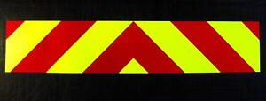 Magnetic-Rear-Chevrons-Reflective-Fluorescent-1500mm
