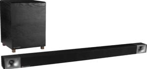 Klipsch-48-440W-3-1-Channel-Soundbar-W-Wireless-Subwoofer-Black-Used-Excellent