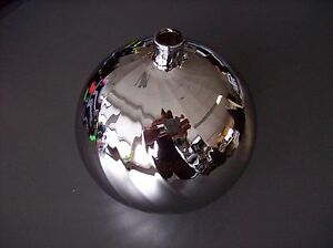 Glas lampenschirm ersatzglas kugel chrom silber g lochmaß fassung