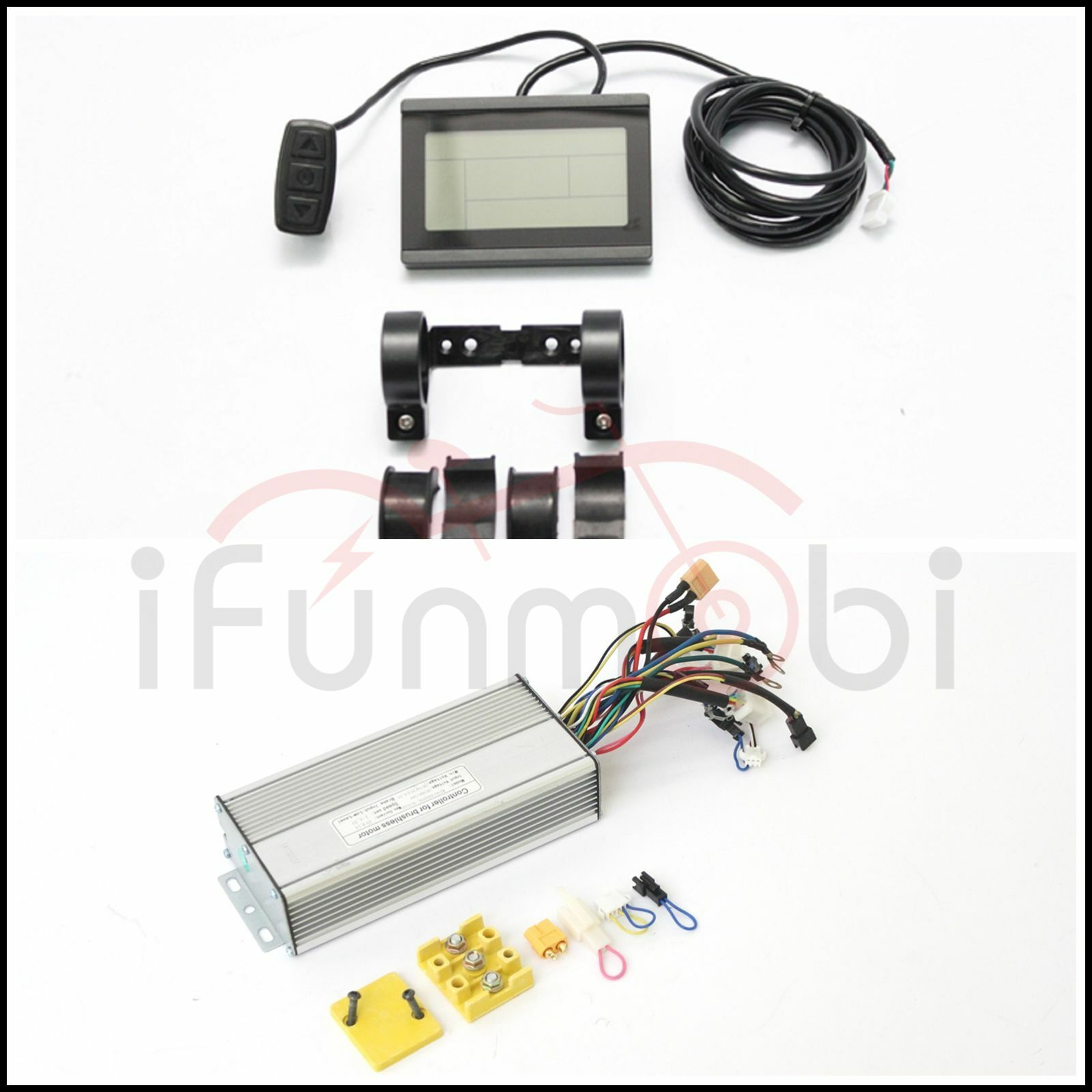 36V 48V 750W  Brushless DC Square Wave Controller 9MOSFET 25A + LCD Control Panel  online outlet sale