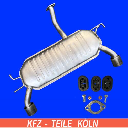 JE/_KM/_ 2.0 CRDi   Endschalldämpfer Auspuff Montagesatz KIA Sportage