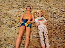 1980's Barbie and Ken dolls, nice!