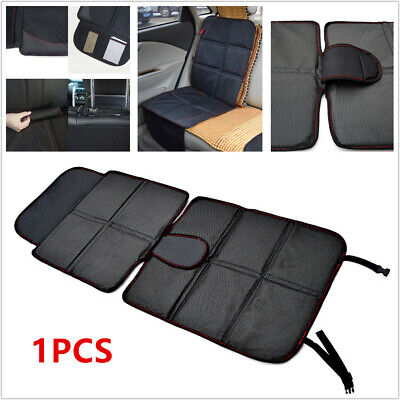 Seat Covers Car Safety Seats 1pcs Waterproof Car Seat Cover Baby Children Safety Cushion Protector Mat Black