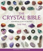 The Crystal Bible Judy Hall Paperback Book Healing Stones Magic Witchcraft Wicca