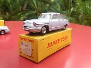 Dinky Toys Panhard Pl 17 Réf 547 Gris Parme Jantes Alu Near Mint