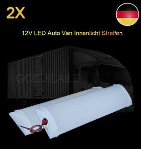 2tlg LED Streifen Leuchte Leiste LED Auto Lichtleiste 12V Blinker-Lampenleiste