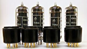 6CH6-CV4055-Brimar-Tube-with-EL84-Adapter-Matched-Quads