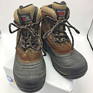 d4b2ae791 Ozark Trail Eagle 5 Thermolite Leather Winter Snow Insulated Duck ...