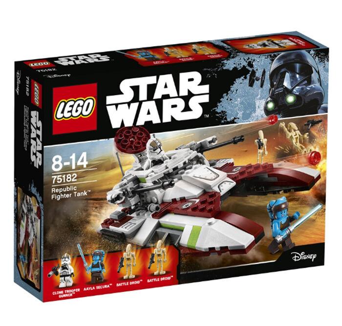 LEGO STAR WARS 75182 Republic Fighter Tank  Brand (New)