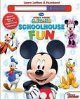 Disney Mickey Mouse Clubhouse: Schoolhouse Fun: A, B, CS & 1, 2, 3s by Sfi Readerlink Dist (Hardback, 2015)