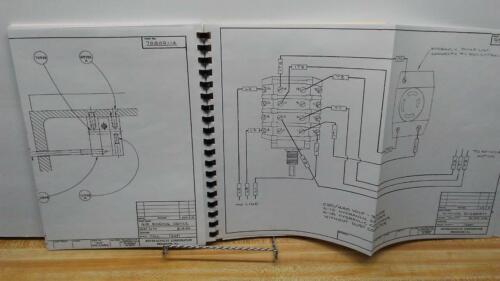 "Manual Boyar-Schultz ""2A"" Deluxe Surface Grinder Instruction /& Spec"