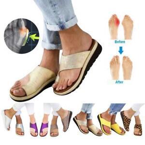 Zapatos-de-sandalias-con-para-mujeres-de-Peep-Toe-Correccion-Toe-Zapatillas