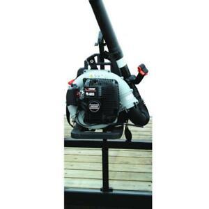Backpack Blower Rack Holder Enclosed Trailer Top Loop Hook Spring Latch 35 lbs.