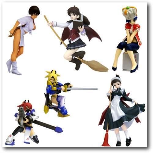 Yujin SR Capcom Fighting Jam Figure Part 2