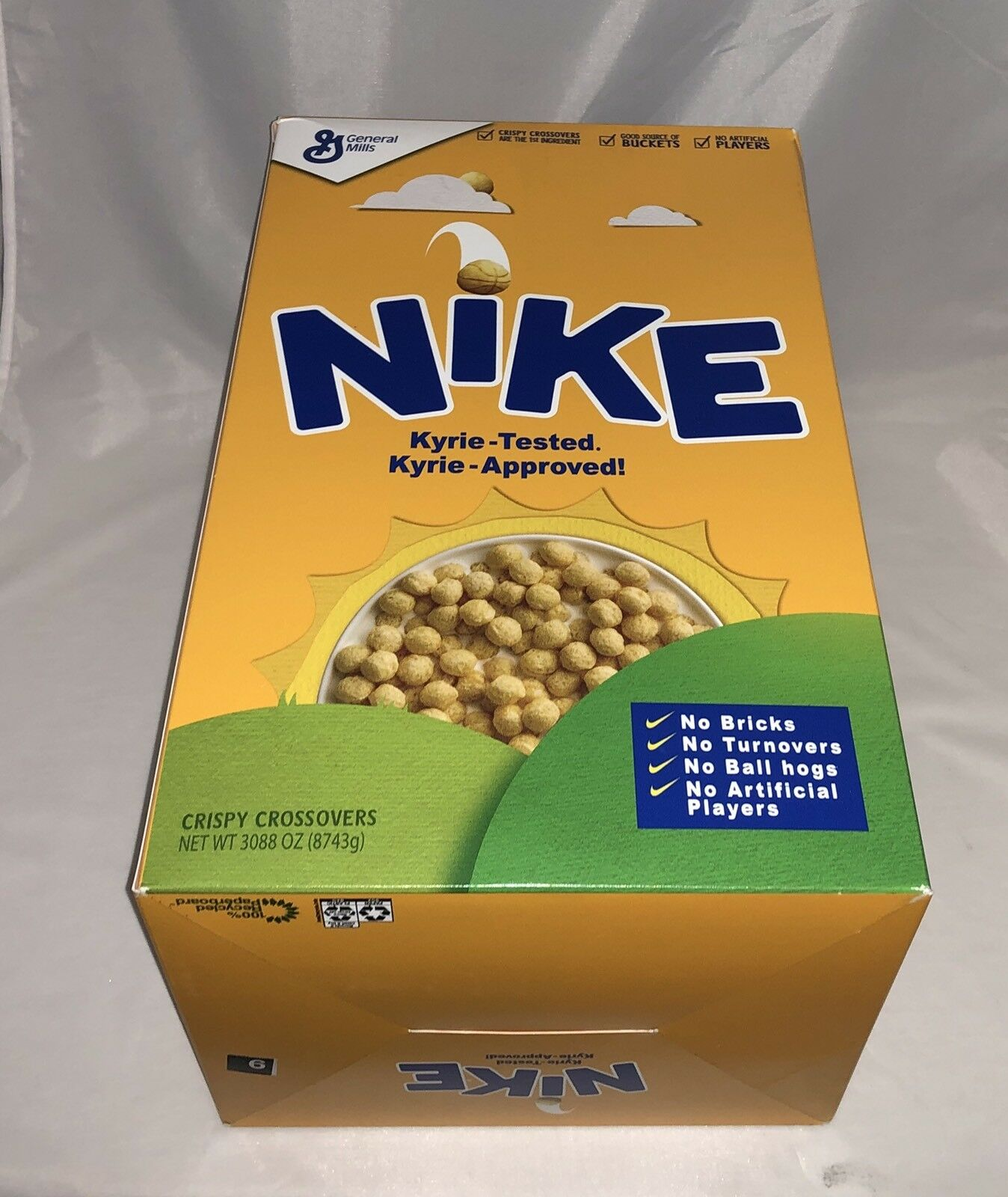 Nike Kyrie Irving 4 Cereal Pack Kix (Special Cereal Box Package) 9 DS EXCLUSIVE