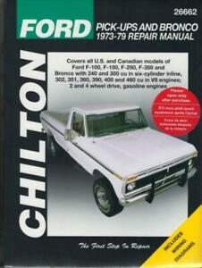 chilton workshop manual ford f100 f150 f250 f350 ford. Black Bedroom Furniture Sets. Home Design Ideas