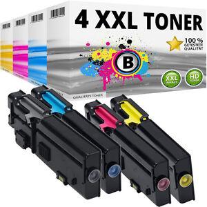 4x-XXL-TONER-fuer-DELL-C2660DN-C2665DNF-VXCWK-YR3W3-RD80W-488NH-KARTUSCHE-SET