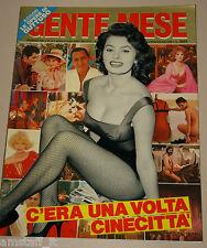 GENTE MESE=1987/14=SOFIA LOREN=C'ERA UNA VOLTA CINEMA ITALIA CINECITTA' ROMA=