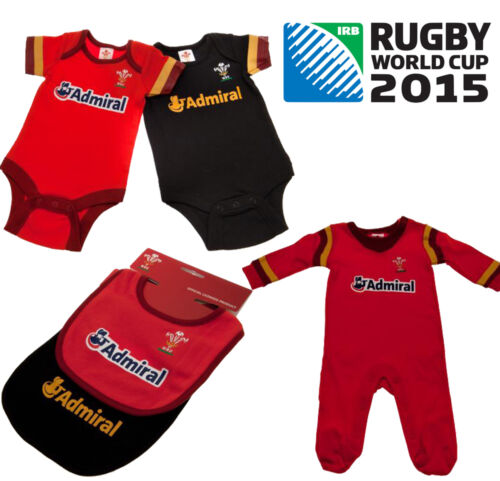 New Rugby 6 Nations Wales Welsh m Baby Merchandise Clothing Kit All Size