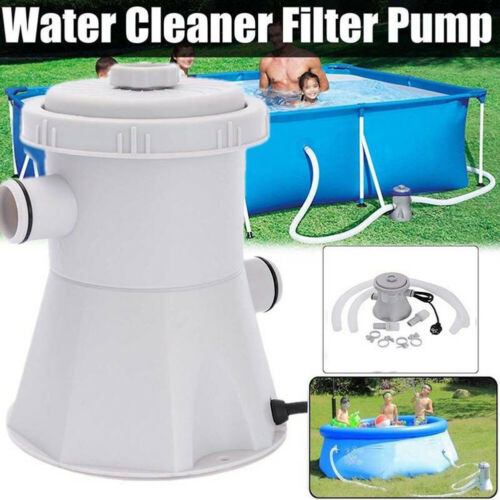Electric Powerful Swimming Pool Filter Pump Water Cleaning System Above Ground