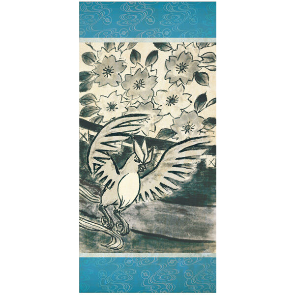 "Pokemon HANAFUDA Hanging scroll KAKEJIKU ""Sakura"" Articuno Japanese"