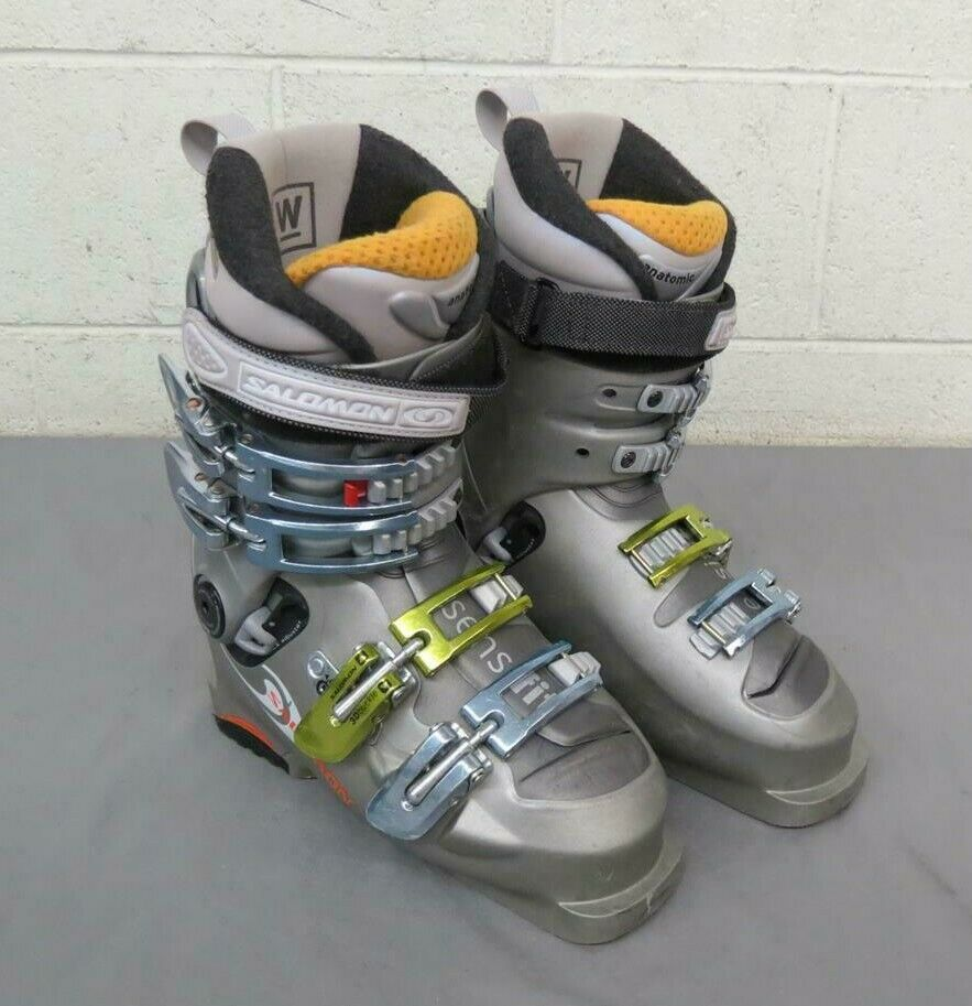Salomon Evolution2 8.0 High-Quality Women's Downhill Ski Boots MDP 23 US 6 GREAT