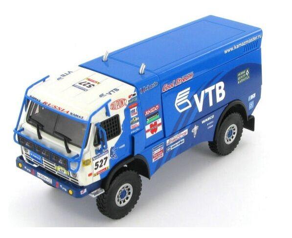 "Kamaz 4911  527 Mardeev-Belyaev-Nikalaev ""Dakar"" 2007 (Eligor 1 43   113386)"