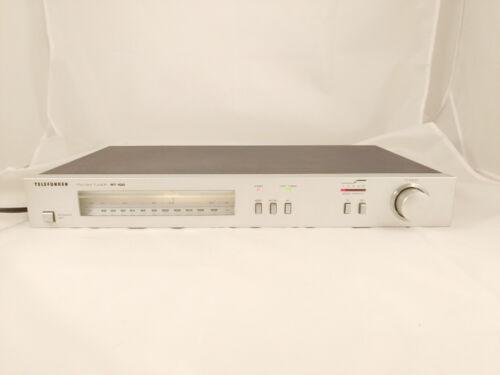 TELEFUNKEN RT-100 Stereo Radio Tuner UKW+MW, Analog Skala, Front Alu,Zustand GUT
