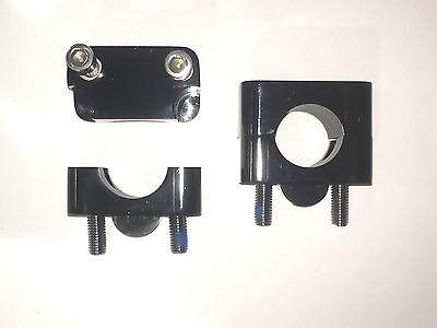 "Universal Big Bar Clamp Kit 7//8/"" to 1 1//8/"" Adapter Motorcycle Atv Atc handlebar"