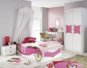 Madchenzimmer Kinderzimmer 4 Tlg Set Schrank Bett Schreibtisch Kate