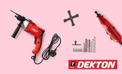15% off Dekton Tools