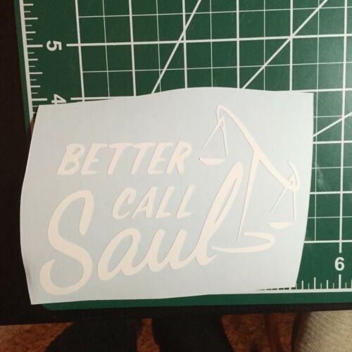 Better Call Saul decal sticker graphic window car heisenberg Breaking Bad amc
