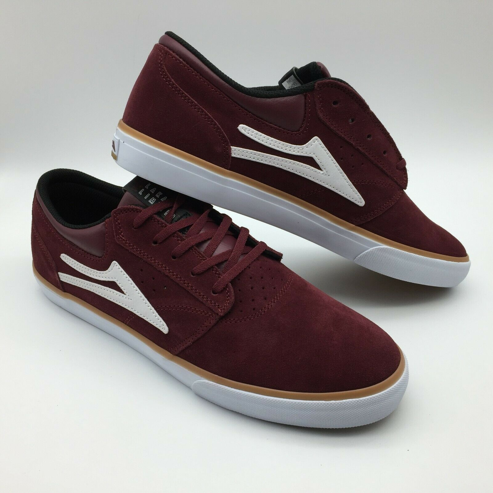 Lakai Men's shoes  Griffin  Burgundy Suede