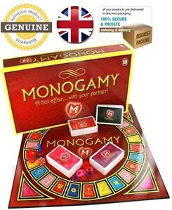 Monogamy Adult Board Game For A Hot Affair Fun Couple Romantic Gift