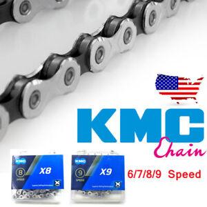 6-7-8-9Speed-Derailleu-116Links-Non-Directional-Chain-MTB-Bike-fit-Shimano-amp-SRAM