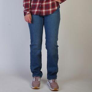 Levi-039-s-512-Perfectly-Slimming-Gerade-Leg-Damen-Western-Mittelblau-Jeans