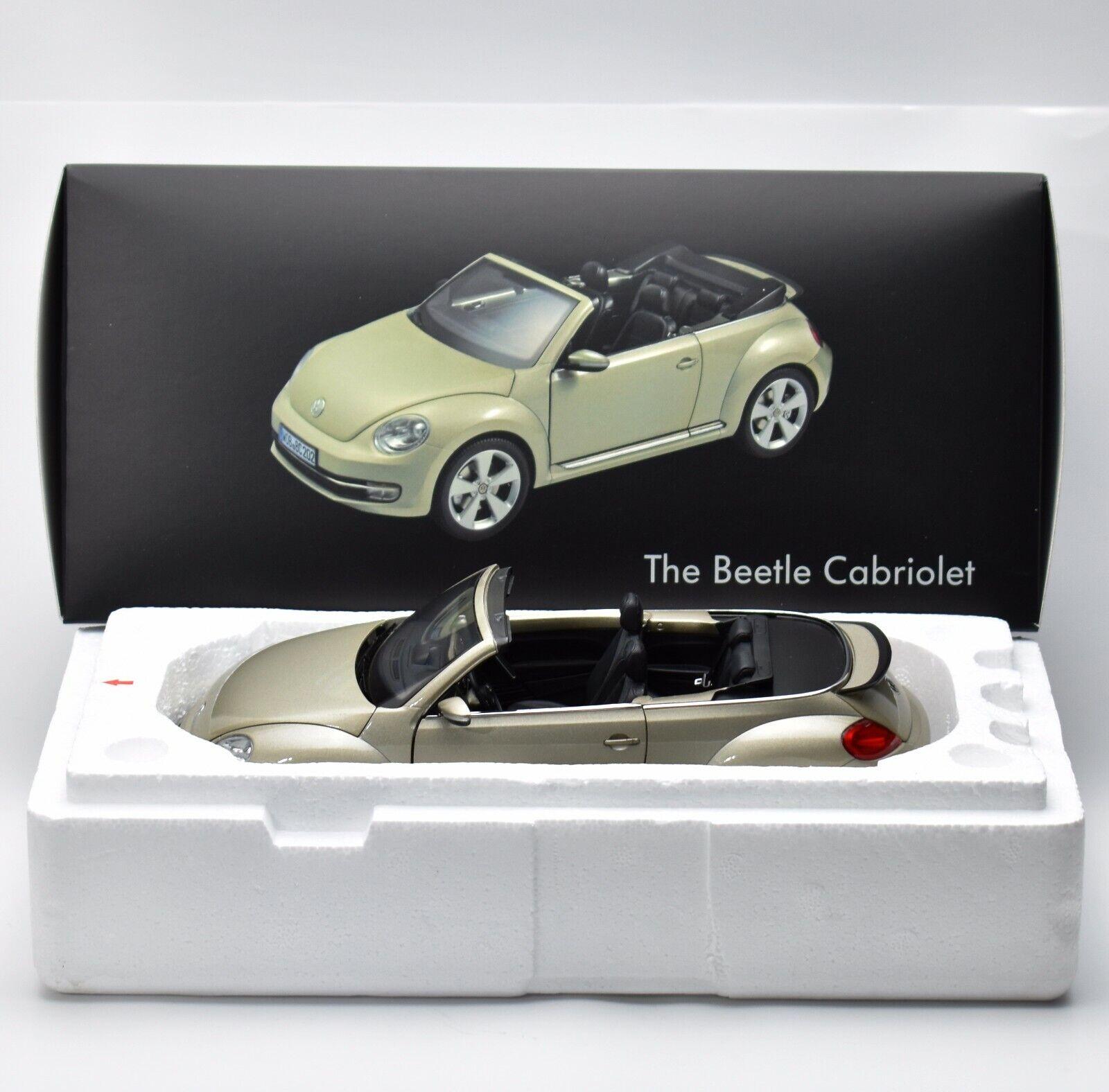Kyosho the beetle cabriolet VW Escarabajo Volkswagen en champanger, 1 18, embalaje original, k046