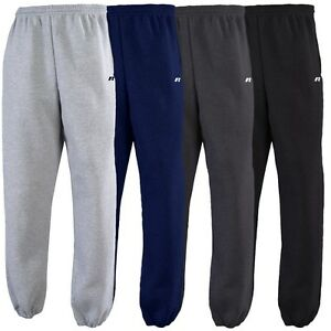 Russell Athletic Boys Youth Dri-Power Fleece Open Bottom Sweatpants with Pockets