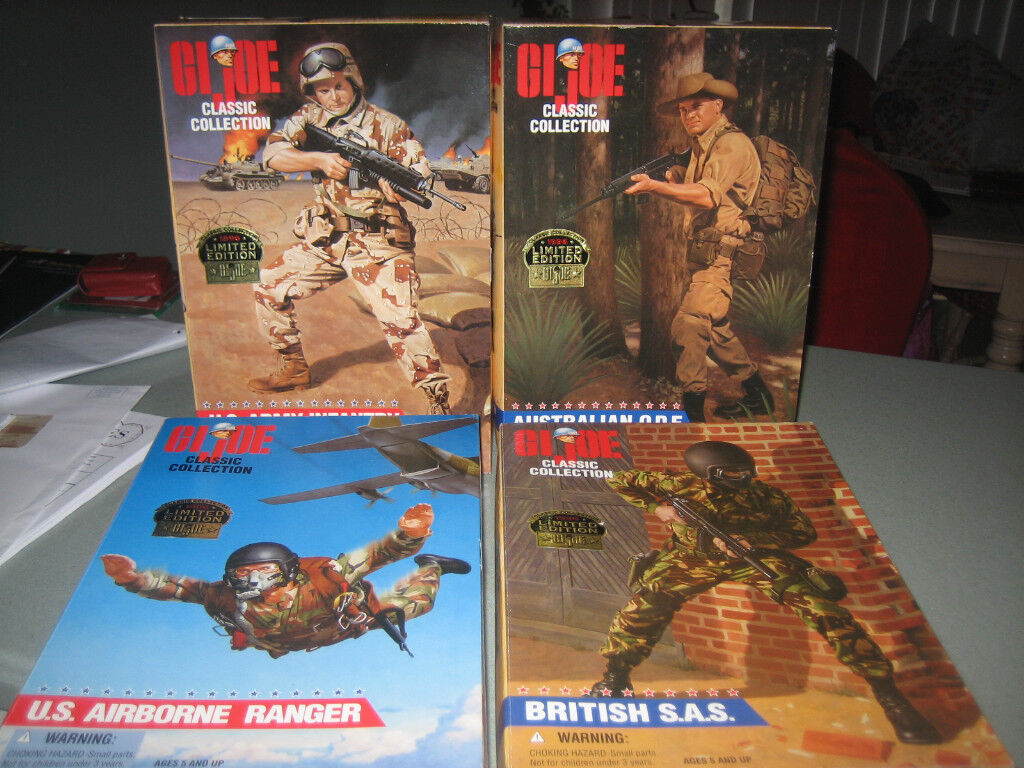 G.I.Joe Deluxe Action Figure Collection
