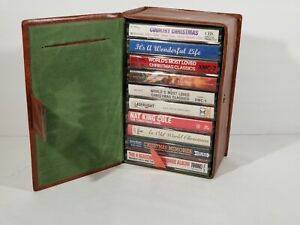 Christmas-Cassettes-Classical-Country-Vocal-Rock-10-Tape-Lot-Holiday-Music