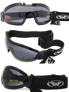 Global-Vision-Flare-Category-3-Tinted-Shatterproof-UV400-Goggles-INC-Pouch-P-amp-P