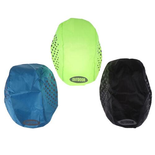 Reflective Bike Helmet Cover Waterproof Windproof Bicycle Helmet Rain CoverPLUS