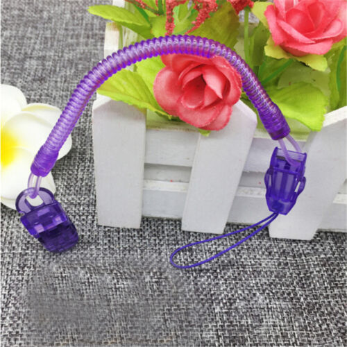 Baby Infant Spring Dummy Pacifier Soother Nipple Clip Chain Holder Strap jw