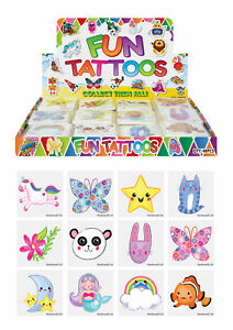 72-Cute-Temporary-Tattoos-Pinata-Toy-Loot-Party-Bag-Fillers-Wedding-Kids