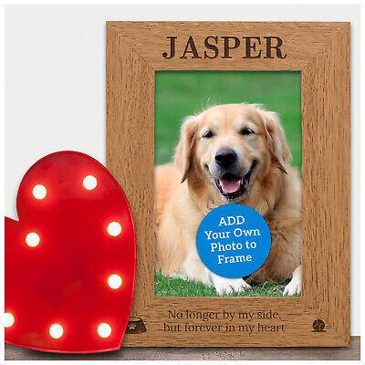 Dog Pet Loss Memorial Personalised Dog Puppy Pet Bereavement Photo Frame