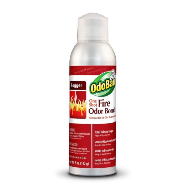 5 oz One Shot Fire Odor Bomb Fogger Remover Smoke Cigarette Bed Smell  Eliminator